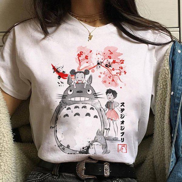Harajuku Anime Spirited Away Kawaii T-shirt 6