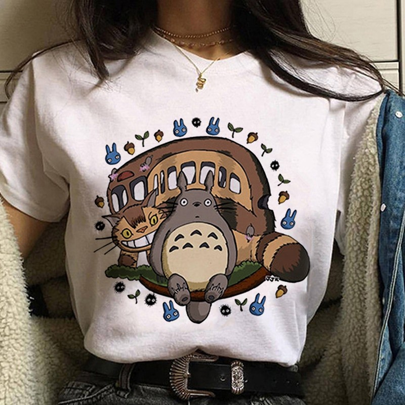 Harajuku Anime Spirited Away Kawaii T-shirt 41