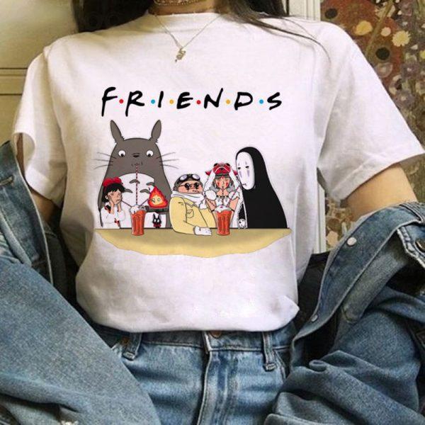 Harajuku Anime Totoro Kawaii T-Shirt 4
