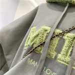 Harajuku E-girl Streetwear Thick Hoodies with Letters 12
