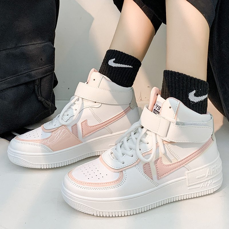 Soft Girl Harajuku Kawaii Aesthetic Autumn Winter High-Top Sneakers 60