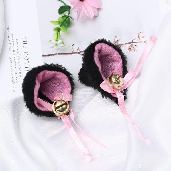 Kawaii Harajuku E-girl Soft girl Plush Animal Ears Hairpins 3