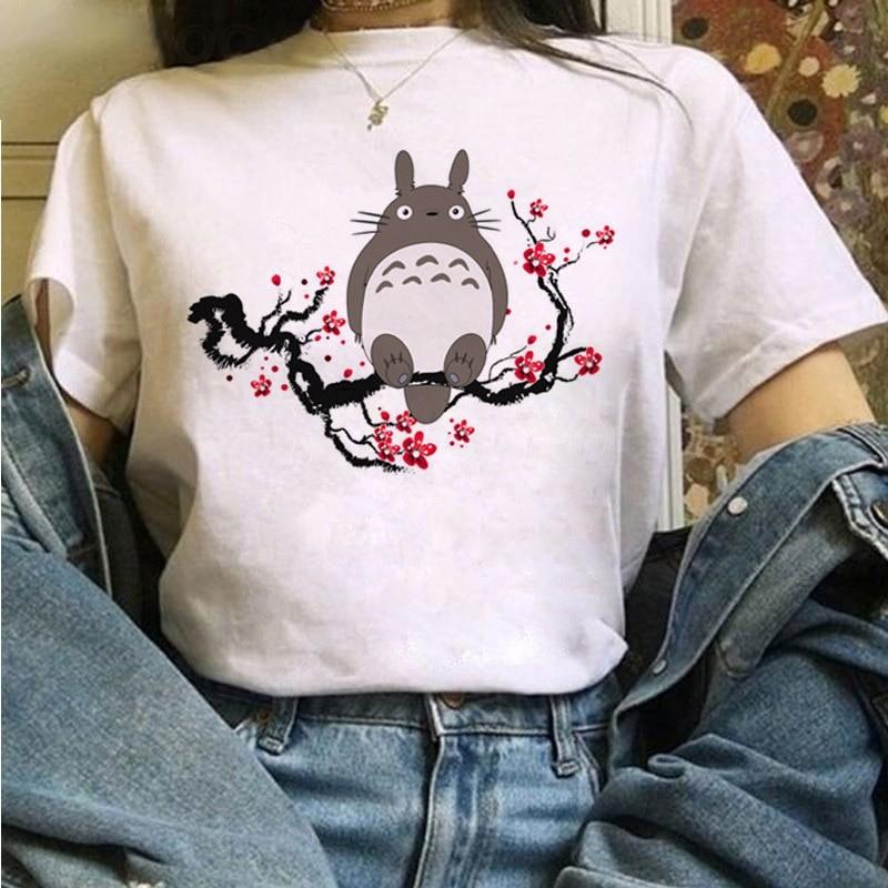 Harajuku Anime Totoro Kawaii T-Shirt 49