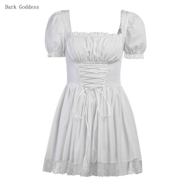 Harajuku E-girl Pastel Goth Soft girl Lolita Princess Mini Dress 6
