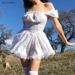Harajuku E-girl Pastel Goth Soft girl Lolita Princess Mini Dress 4