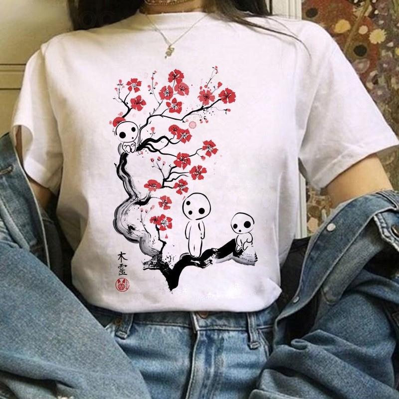 Harajuku Anime Totoro Kawaii T-Shirt 48