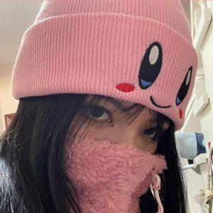 Anime Kawaii Soft girl Cartoon Cute Face Hat 1
