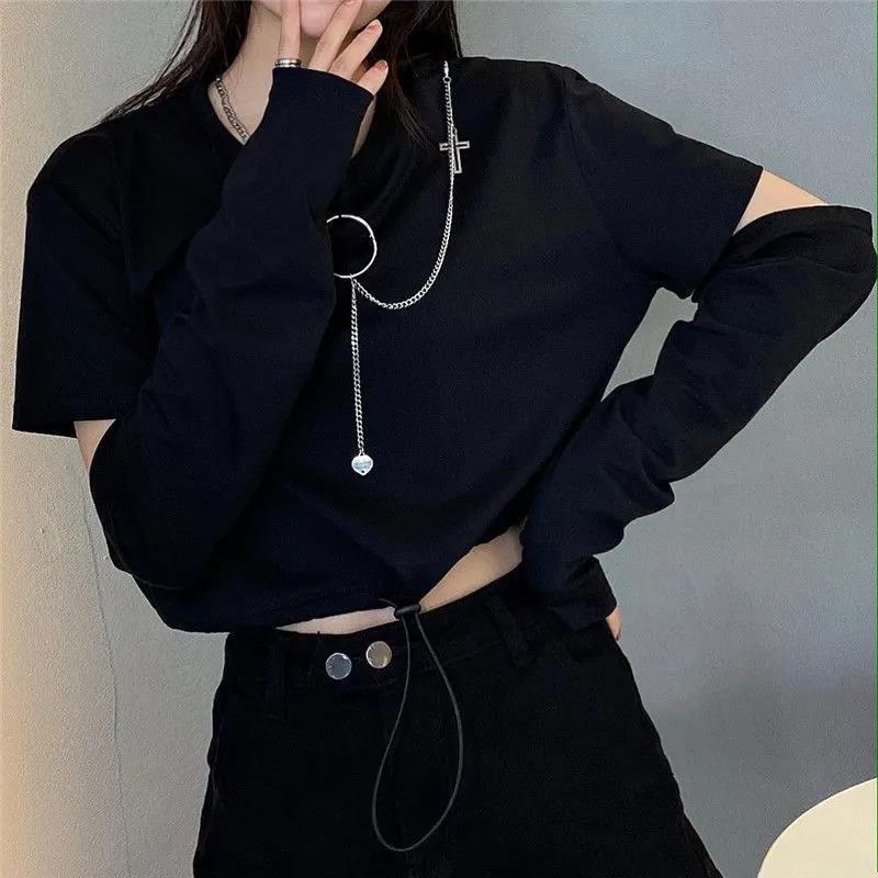 Alt Clothes Style Harajuku Set Cargo Pants and Swaetshirt 45