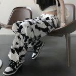 E-girl E-boy Punk Harajuku Cargo Pants Tie Dye 5