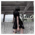 E-girl Pastel Goth Harajuku Dress with cross 4
