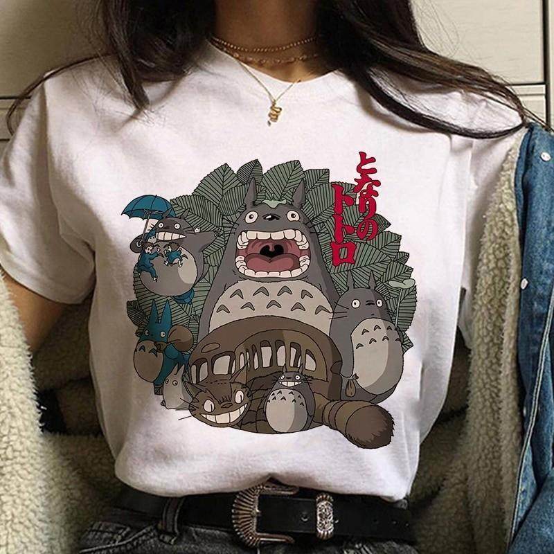 Harajuku Anime Spirited Away Kawaii T-shirt 52