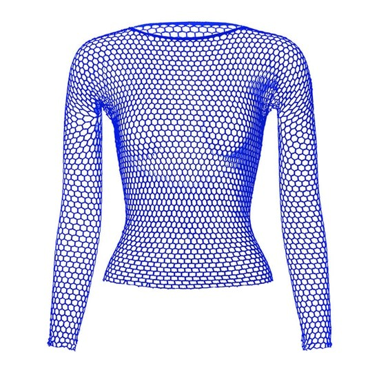Punk E-girl Gothic Fishnet Bodystocking Long Sleeve Underwear 47