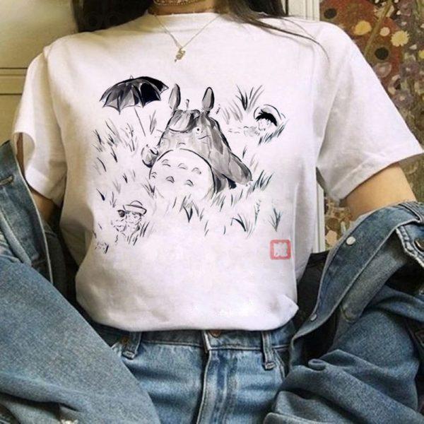 Harajuku Anime Totoro Kawaii T-Shirt 3