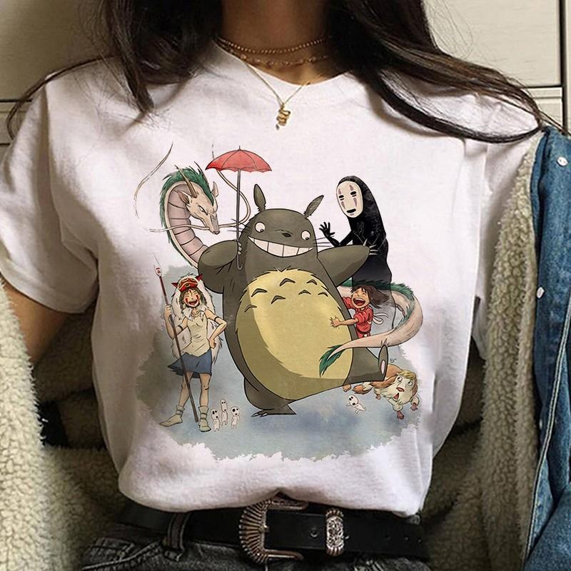 Harajuku Anime Spirited Away Kawaii T-shirt 54