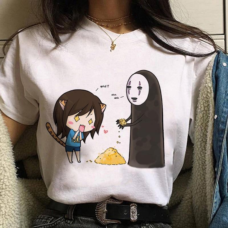 Harajuku Anime Spirited Away Kawaii T-shirt 42
