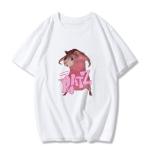 E-girl Pastel Gothic Punk Harajuku T-shirts Ratz print 6
