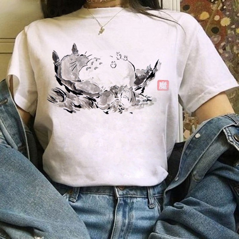 Harajuku Anime Totoro Kawaii T-Shirt 46