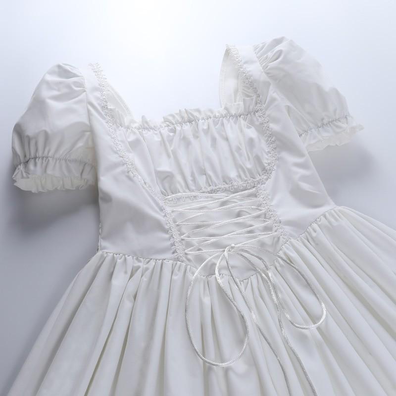 Harajuku E-girl Pastel Goth Soft girl Lolita Princess Mini Dress 58