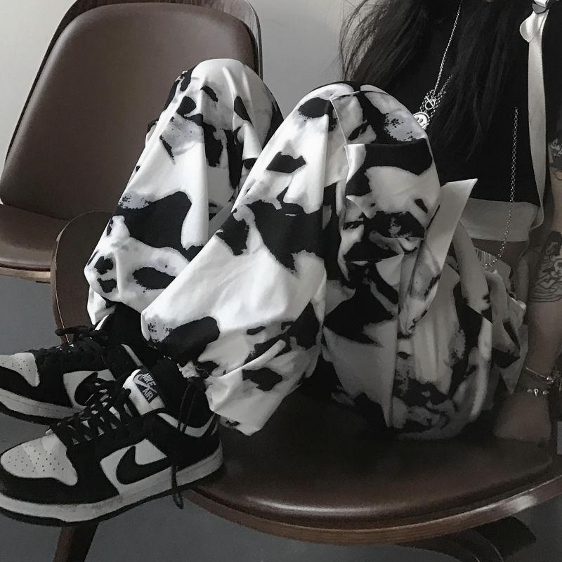 E-girl E-boy Punk Harajuku Cargo Pants Tie Dye 50
