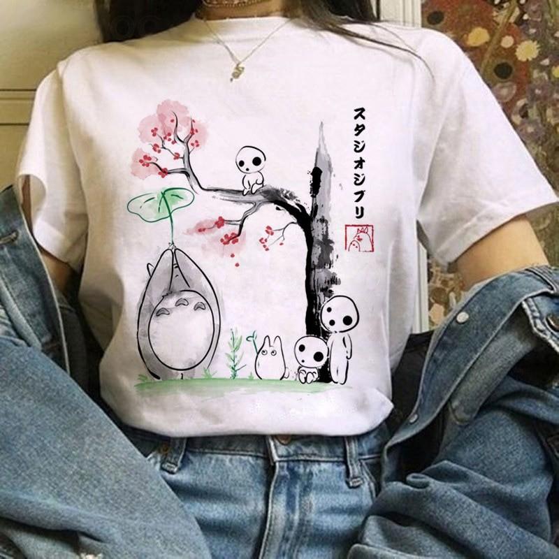 Harajuku Anime Totoro Kawaii T-Shirt 53