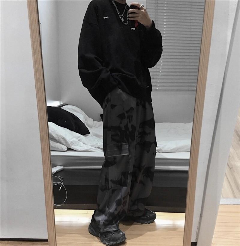 E-girl E-boy Punk Harajuku Cargo Pants Tie Dye 45