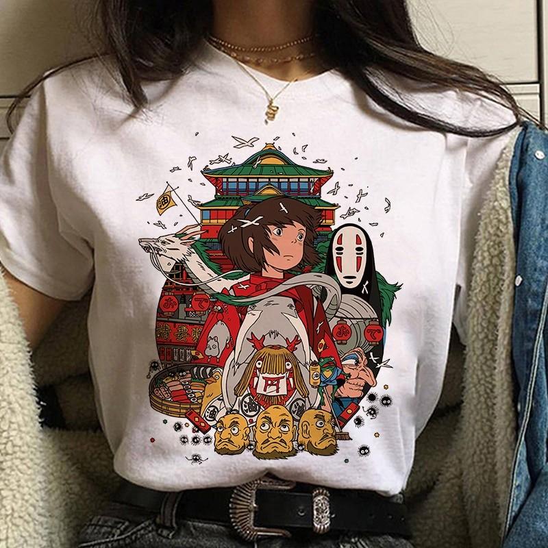 Harajuku Anime Spirited Away Kawaii T-shirt 55