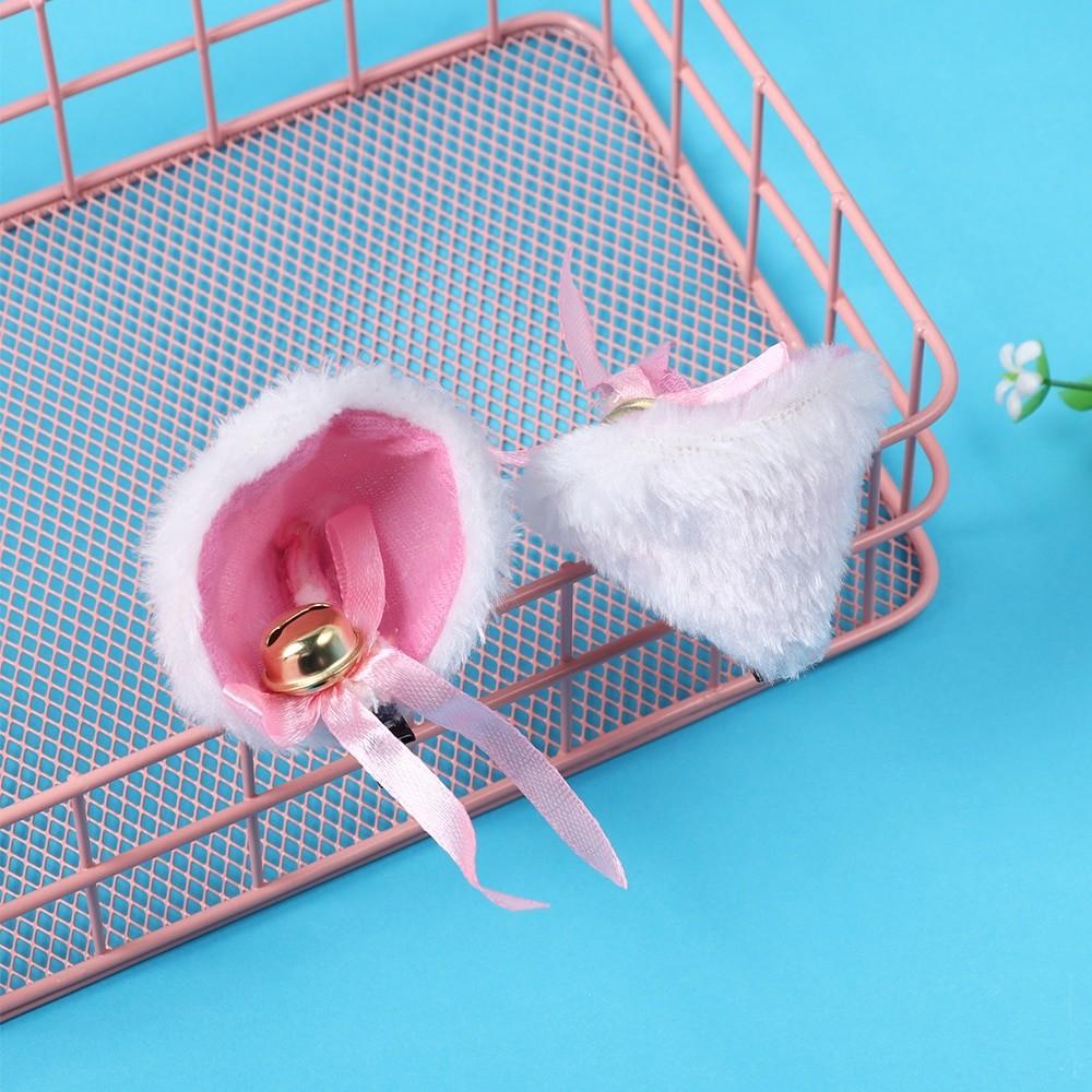 Kawaii Harajuku E-girl Soft girl Plush Animal Ears Hairpins 57