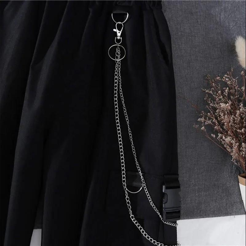 Alt Clothes Style Harajuku Set Cargo Pants and Swaetshirt 48