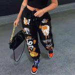 Harajuku Y2K E-girl Punk Cartoon Printed Pants 4