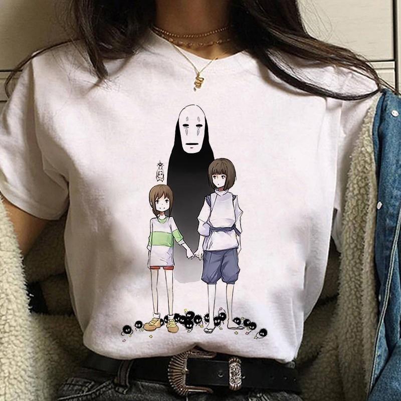 Harajuku Anime Spirited Away Kawaii T-shirt 44