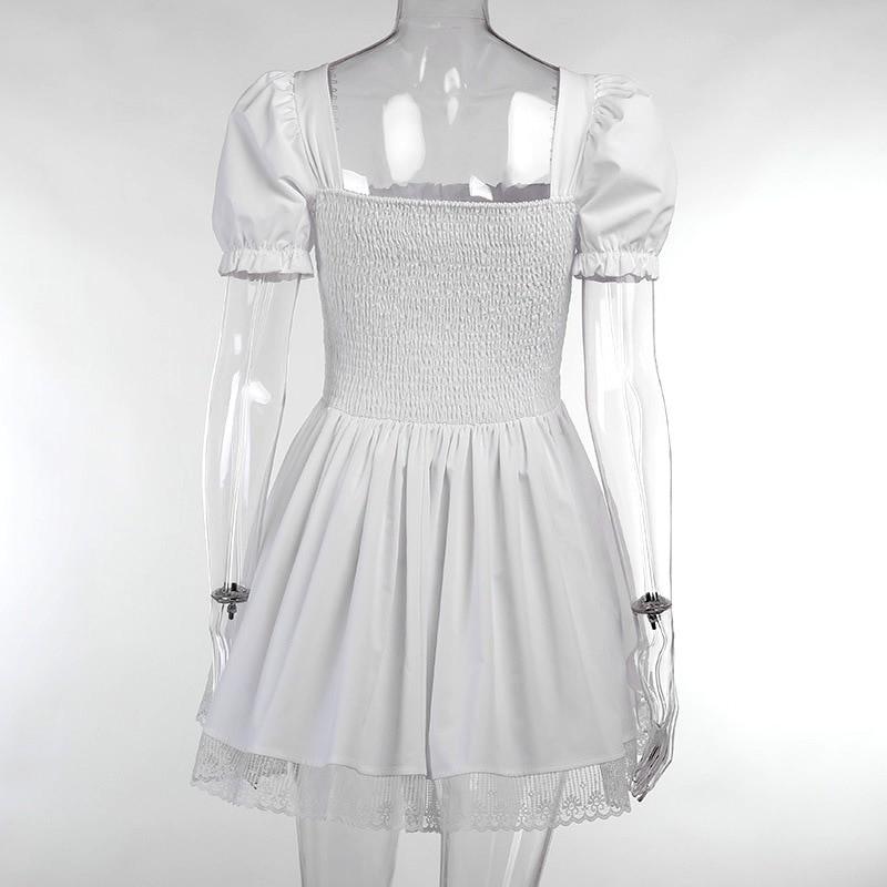 Harajuku E-girl Pastel Goth Soft girl Lolita Princess Mini Dress 56