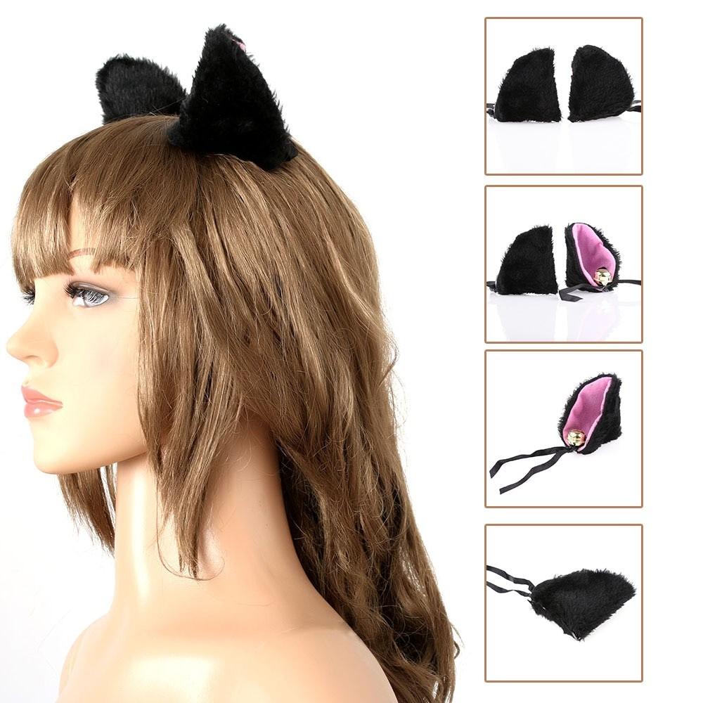 Kawaii Harajuku E-girl Soft girl Plush Animal Ears Hairpins 49