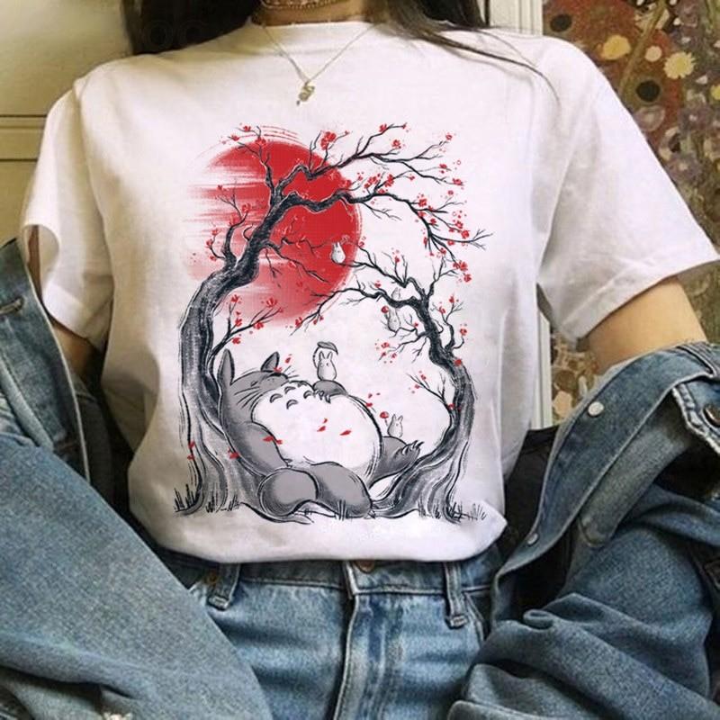 Harajuku Anime Totoro Kawaii T-Shirt 51