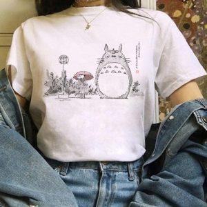 Harajuku Anime Totoro Kawaii T-Shirt 1
