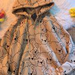 E-girl E-boy Harajuku Hoodie with Lillte bear Cartoon print 3