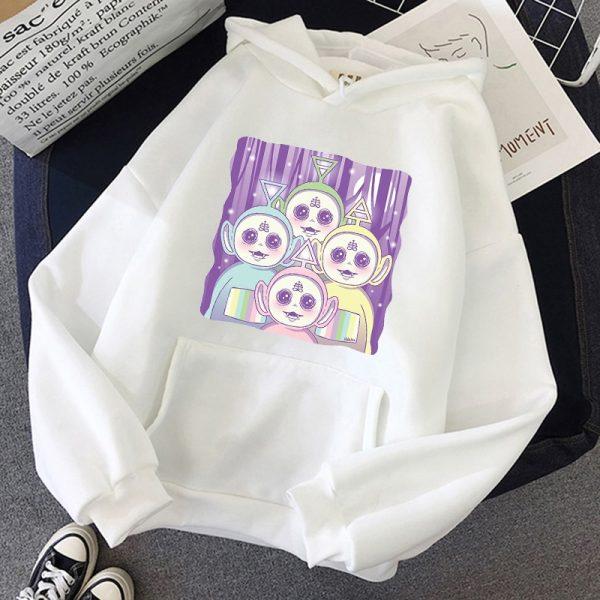 Aesthetic E-girl Harajuku hoodie Teletubbies 5