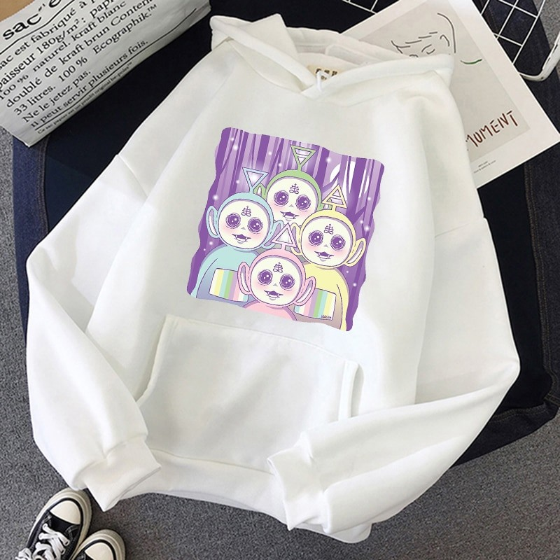 Aesthetic E-girl Harajuku hoodie Teletubbies 45
