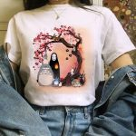 Harajuku Anime Totoro Kawaii T-Shirt 5