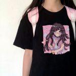 E-girl Harajuku Kawaii Mikan Tsumiki Anime T-shirt 3
